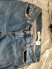 LEVI'S 504 BOOTCUT SLOUCH SIZE 13  flat pockets Red Label