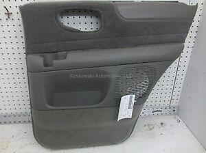 Chevy Blazer Door Panel Right Passenger Rear Interior Trim power windows