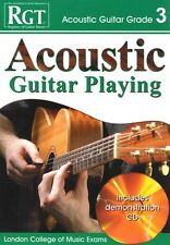 RGT ACOUSTIC GUITAR PLAYING Grade 3 Book/CD LCM*