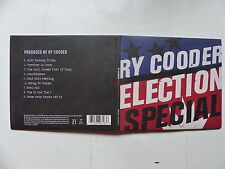 CD Album RY COODER Election special 7559-79616-3