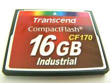 16gb Compact Flash Card (16 GB CF mappa) TRANSCEND USATE
