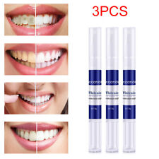 3 Pcs Teeth Whitening Pen Whitening Remove Yellow Teeth Coffee Stains Useful