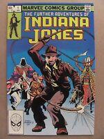 Further Adventures of Indiana Jones #1 Marvel Comics 1983 Series 9.2 Near Mint-