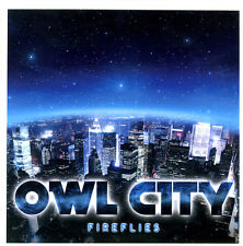 Owl City 'Fireflies' 1-Track FRANCE 2010 Promo CD - Great Condition!