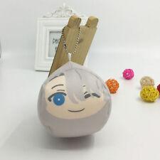 Hot Anime YURI ON ICE Cute Victor Nikiforov Q Dumpling Pendant Key Buckle Gift#A