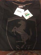 New with tags PUMA Men's Ferrari Shield Tee,Moonless night, Size Large.  Black