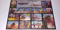 ULTRAMAN Kaiju C1 C2 2side Vintage Poster Japan Japanese Tokusatsu TV Show 1970s