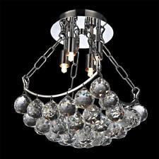 NEW Contemporary Crystal Ceiling Lamp Pendant Light Fixture Chandelier Evrosvet