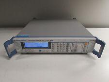 Rohde & Schwarz SMV03 Vector Signal Generator 9KHz to 3.3 GHz, Opt B19