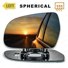 Left Passenger side Wing mirror glass for Audi A4 2010-2015 Heated