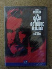 DVD (Nuevo) La Caza Del Octubre Rojo. Sean Connery. Alec Baldwin