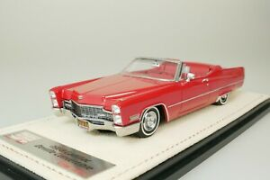 Cadillac Deville Convertible 1968 Red #156 From Only 199 1/43 Stamp STM68701