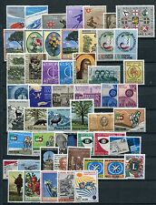 ITALY 1966-67  MNH COMPLETE COLLECTION 52 Stamps