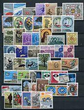 ITALIA 1966-67 Gomma integra, non linguellato Complete Collection 52 FRANCOBOLLI