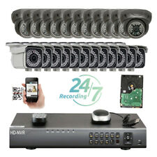 32Ch H.265 NVR 5MP 2592 PoE IP ONVIF 66IR &48 IP66 Security Camera System 456ij