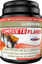 Dennerle Premium Fish Food: Complete Gourmet Flakes 200ml for All Fish