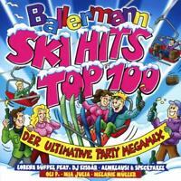 BALLERMANN SKI HITS TOP 100/ULTIMAT.PARTY MEGAMIX  2 CD NEW