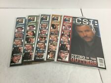CSI Dying In The Gutters 1-5 Lot Set Run Nm Near Mint IDW IK