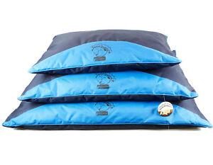 Sweet Dreams Blue Waterproof Dog Pillow by World of Pets S/M/L