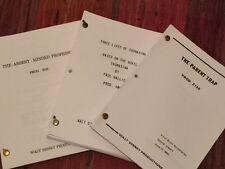 Disney Script Lot
