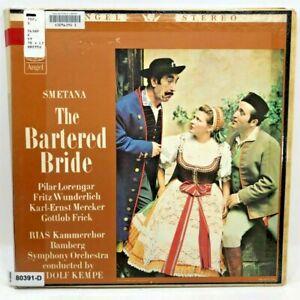 Vintage VINYL RECORD 3 LP Set THE BARTERED BRIDE Bedrich Smetana Pilar Lorengar