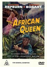 AFRICAN QUEEN - BOGART & HEPBURN - AUSSIE VERSION R4 NEW DVD   FREE LOCAL POST