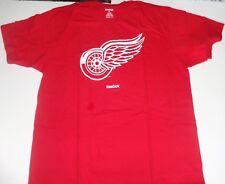 Detroit Red Wings NHL Reebok Short Sleeve Tee Shirt - XL -  Free Shipping