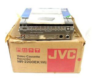 JVC HR-2200 Portable Colour Video Cassette Recorder Vintage Retro *FREE P&P*
