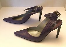 Rodolphe Menudier grape and dollar sign on back strap  Size 36 Italy(size 6 US)