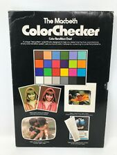 New listing Macbeth Color Checker Rendition Chart Vintage Nice Condition