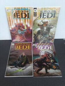 Star Wars Tales of the Jedi # 1 2 3 + 4  of 5- Limited Series, 1993 NM -M