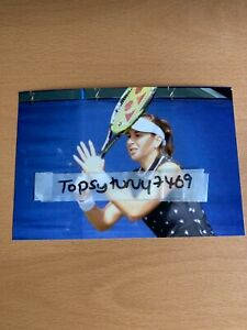 BELINDA BENCIC TENNIS PHOTO 6 X 4 INCH WIMBLEDON FRENCH OPEN