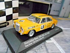 MERCEDES BENZ 300 SEL 6.8 AMG Test Le Mans 1972 #48  Heyer Sieg Minichamps 1:43