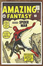 Amazing Fantasy #15  Spider Man  poster art print '92  Jack Kirby