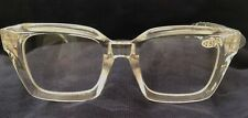 Eyekepper Reading Glasses, Oversized Square Design, Spring Hinge, +2.50 - Clear