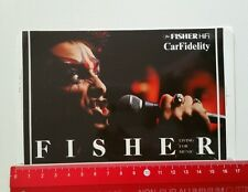 ADESIVI/Sticker: Fisher Hifi-Car Fidelity (08041611)