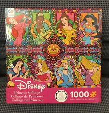 "New Ceaco Disney Princess Collage Jigsaw Puzzle 26"" X 19"""