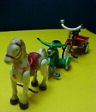 3 Sidewalk Cruisers Hallmark Velocipede Mobo Horse Delivery Cycle