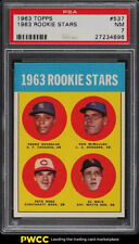 1963 Topps Pete Rose ROOKIE RC #537 PSA 7 NRMT (PWCC)