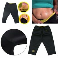 Women Neoprene Slimming Pants Body Shaper Thermo Fat Burner Sport Yoga Sauna New