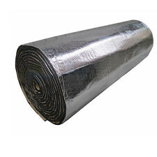 2 X Car Sound Proofing Deadening Insulation Heat 10mm Foam Glass Fibre 50X300cm