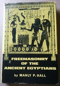 FREEMASONRY OF THE ANCIENT EGYPTIANS - Manly P. Hall - hc/dj 1965 4th ed. 6th pr