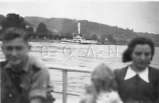 Wwii German Rp Uniformed Youth Boat Youth Tour Ship Girl Bdm 1930s 40s