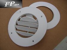 Grille Blanche plastique Avec Fermeture Diamètre 165mm Ref 245024