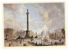 LONDRA Trafalgar Square Illustrata da H. MOSS