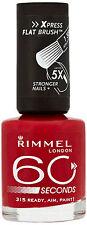 RIMMEL 60 SECONDS Nail Polish / Varnish 8ML - BRAND NEW - CHOOSE A SHADE -
