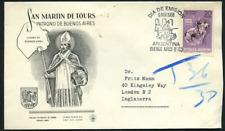 """Argentinien 1968 """"Hl. Martin von Tours"""" Schutzpatron, MiNr 1009 auf gelauf. FDC"""