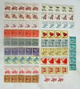 USA  MNH stamps  - coil strips- FV $5.53