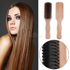 Antistatic Cushion Hair Brush Comb Wooden Handle Massage Head Hair Care Salon