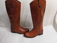Frye 'Melissa Button' Leather Riding Boot (Women) Sz 6 1/2 B